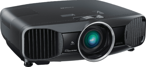 Image of a DVD projector